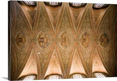Ceiling of Grana church, Alfama, Lisbon, Portugal
