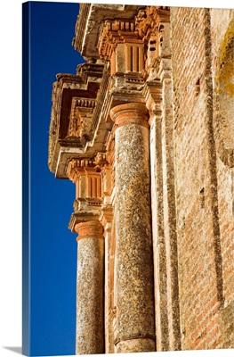 El Monumento, unfinished 18th century church, Castao del Robledo, Huelva, Spain