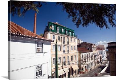 Escolas Gerais street, Alfama, Lisbon