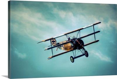 Fokker Dr1 in flight