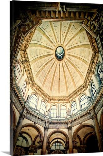 Interior of La Salute church, Dorsoduro, Venice, Italy Wall Art ...
