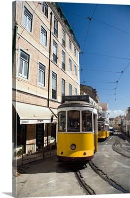 Lisbon tram, Alfama