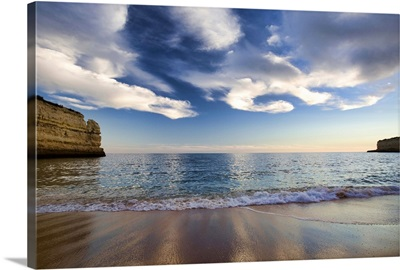 Nossa Senhora da Rocha beach, town of Porches, Portugal