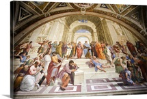 School of Athens, Raphael's rooms, Vatican museums