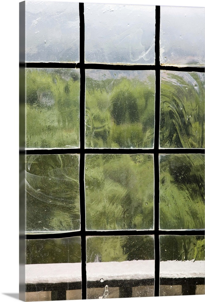 Reproduction Antique Gl Panes Image And Candle