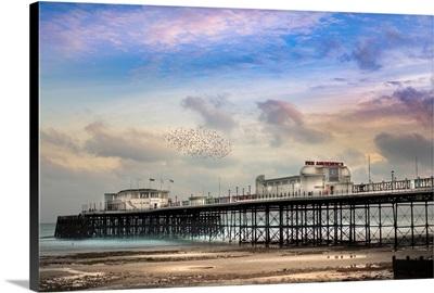 Worthing Pier In West Sussex