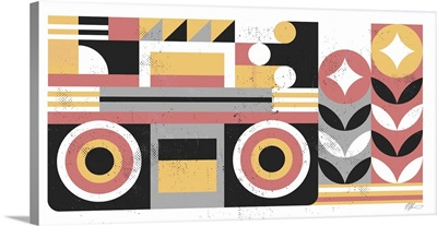 Abstract Boombox