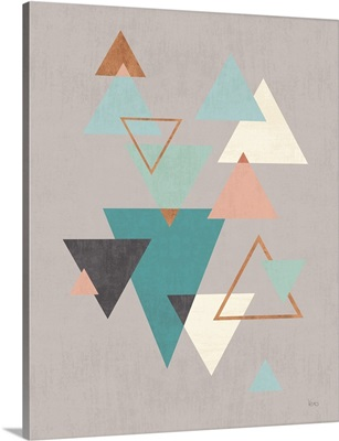 Abstract Geo II Gray