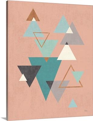 Abstract Geo II Pink