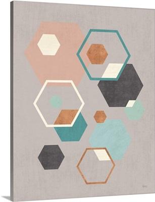 Abstract Geo III Gray