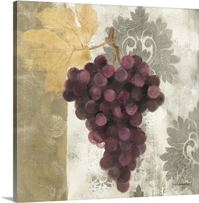 Acanthus and Paisley With Grapes  I