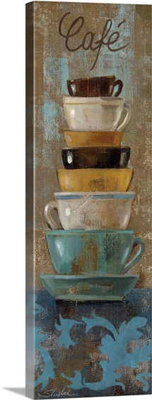 Antique Coffee Cups I
