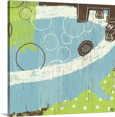 Bathroom Bubbles IV