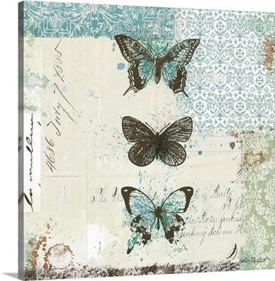 Bees n Butterflies No. 2 - Blue