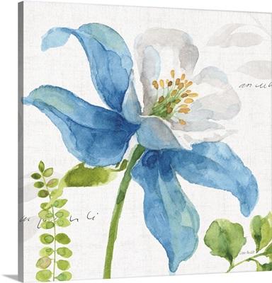 Blue and Green Garden II