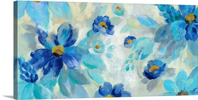 Blue Flowers Whisper I