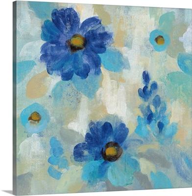 Blue Flowers Whisper II