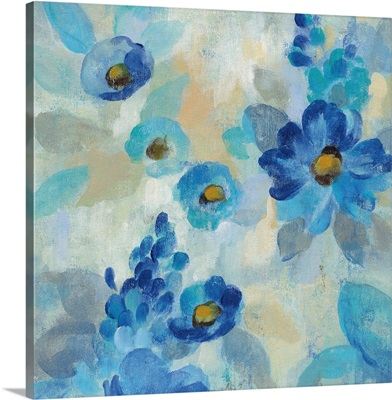 Blue Flowers Whisper III