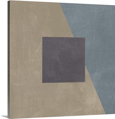 Blue Silk Abstract II