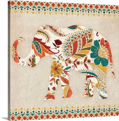 Boho Elephant II