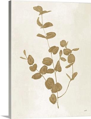 Botanical Study II Gold