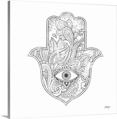 Buddha Hamsa Eye