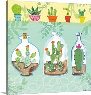 Cacti Garden I no Birds and Butterflies
