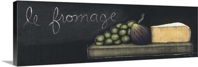 Chalkboard Menu III - Fromage