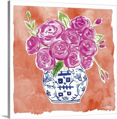 Chinoiserie Roses II