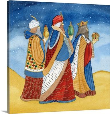Christmas in Bethlehem I with Stars