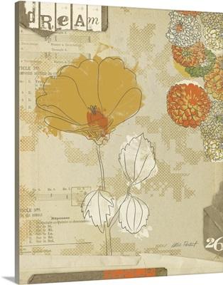 Collaged Botanicals II