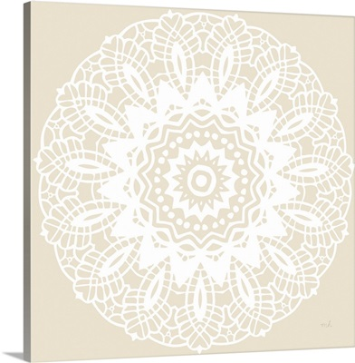 Contemporary Lace Neutral II