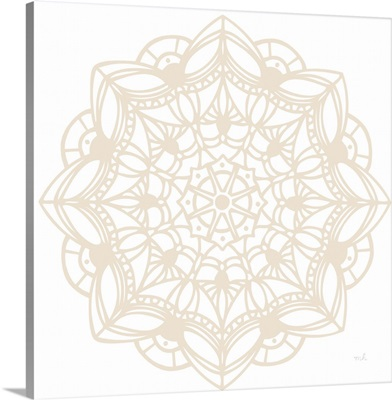 Contemporary Lace Neutral IV