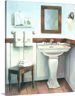 Cottage Sink with Cherrywood