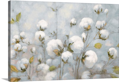 Cotton Field Blue Gray