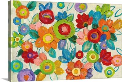 Decorative Flowers Bright
