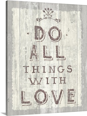 Do All Things Driftwood