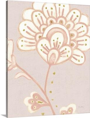 Flora Chinoiserie III Textured Terra