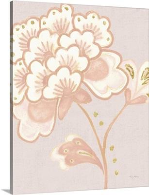 Flora Chinoiserie IV Textured Terra