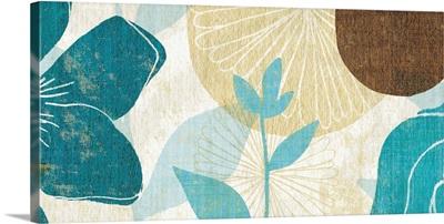Floral Burst Panel I