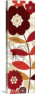 Floral Pop Panel I