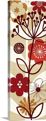 Floral Pop Panel II
