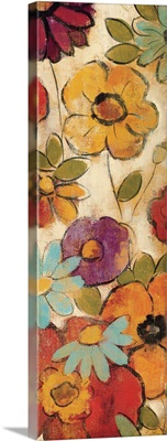 Floral Sketches on Linen I