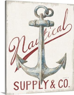 Floursack Nautical V Red