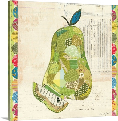 Fruit Collage III - Pear