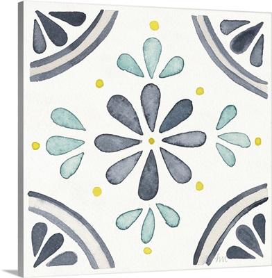 Garden Getaway Tile I White