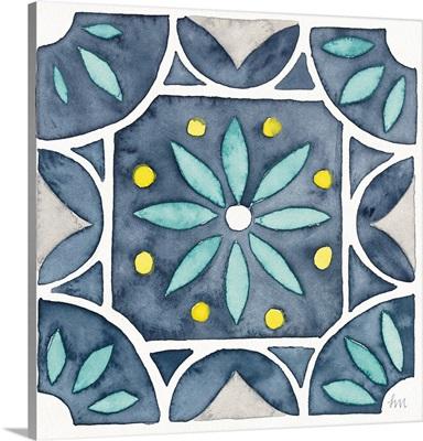 Garden Getaway Tile VIII Blue