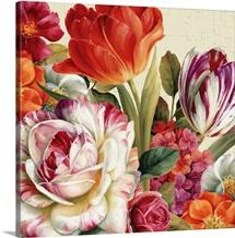 Garden View Tossed - Florals
