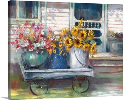 Garden Wagon Bright