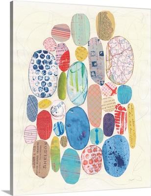 Geometric Collage I Bright